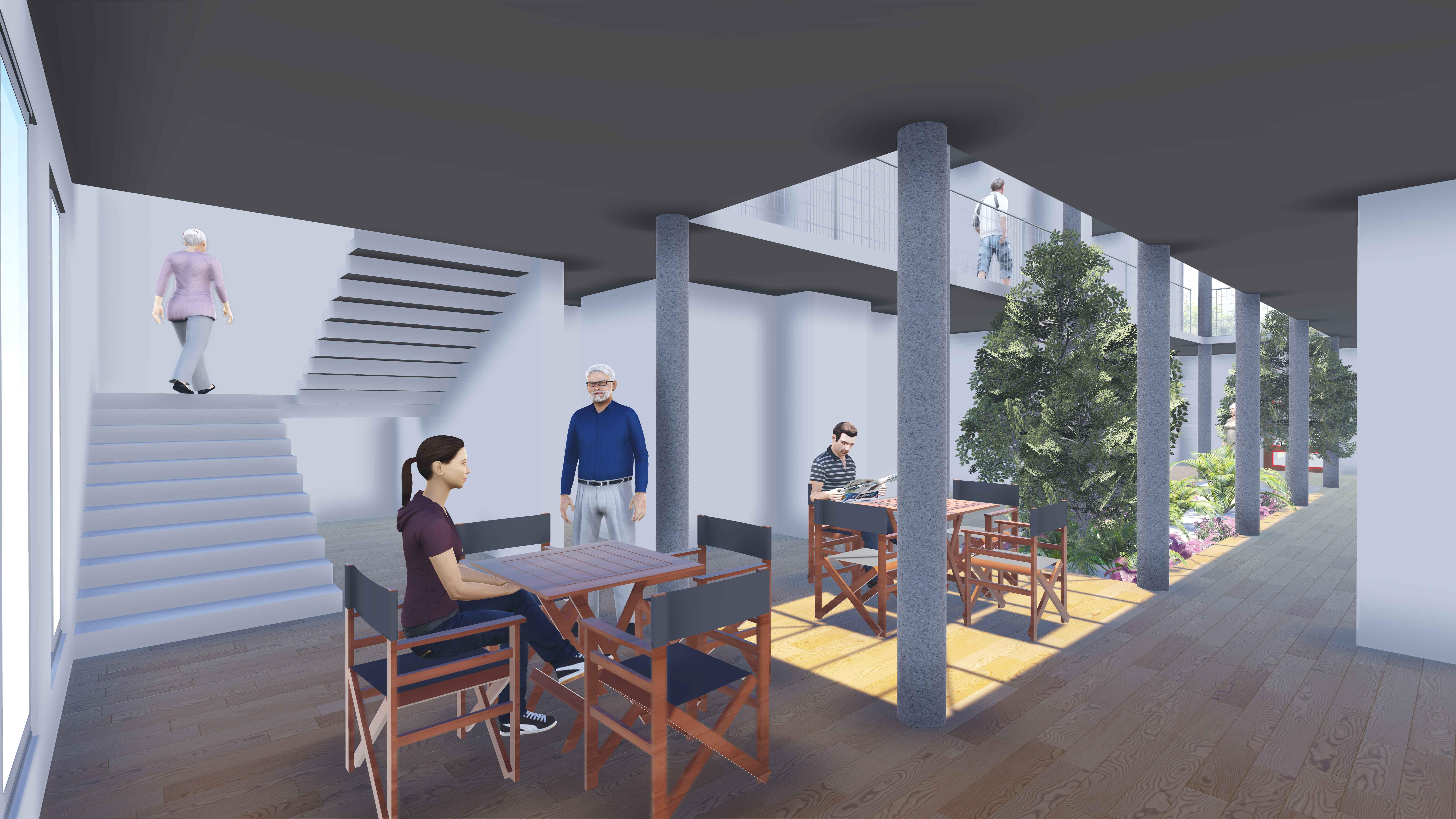 residence block
