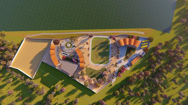 Option Vaults - site plan