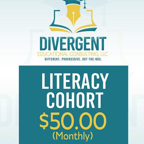 Literacy Cohort - Monthly
