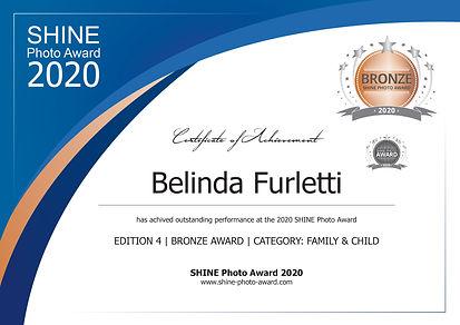SHINE Photo Award_Certificate_Belinda Fu