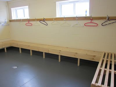 Pavilion Changing Rooms