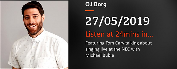 OJ Borg Radio 2 Tom Cary Michael Buble.p