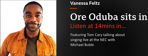 Ore Oduba Radio 2 Tom Cary Michael Buble