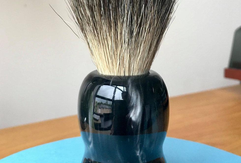 Black Pearlescent Best Badger Shave Brush
