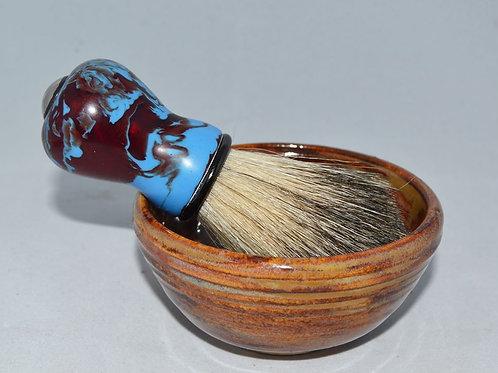 Handturned Badger Shave Brush