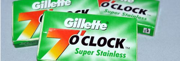 Gillette 7 O'clock Bades - Super Stainless