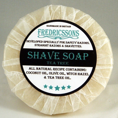 Fredricssons shave soap refill to fit all bowls