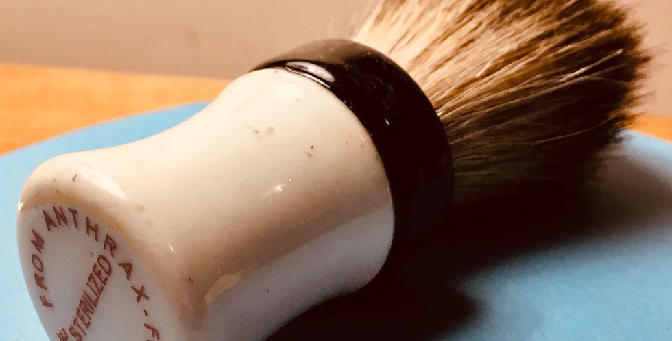 Vintage 1920's Custom Shave Brush
