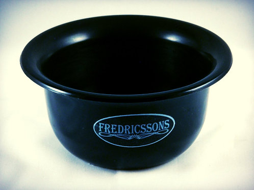 Black Resin Shave Bowl