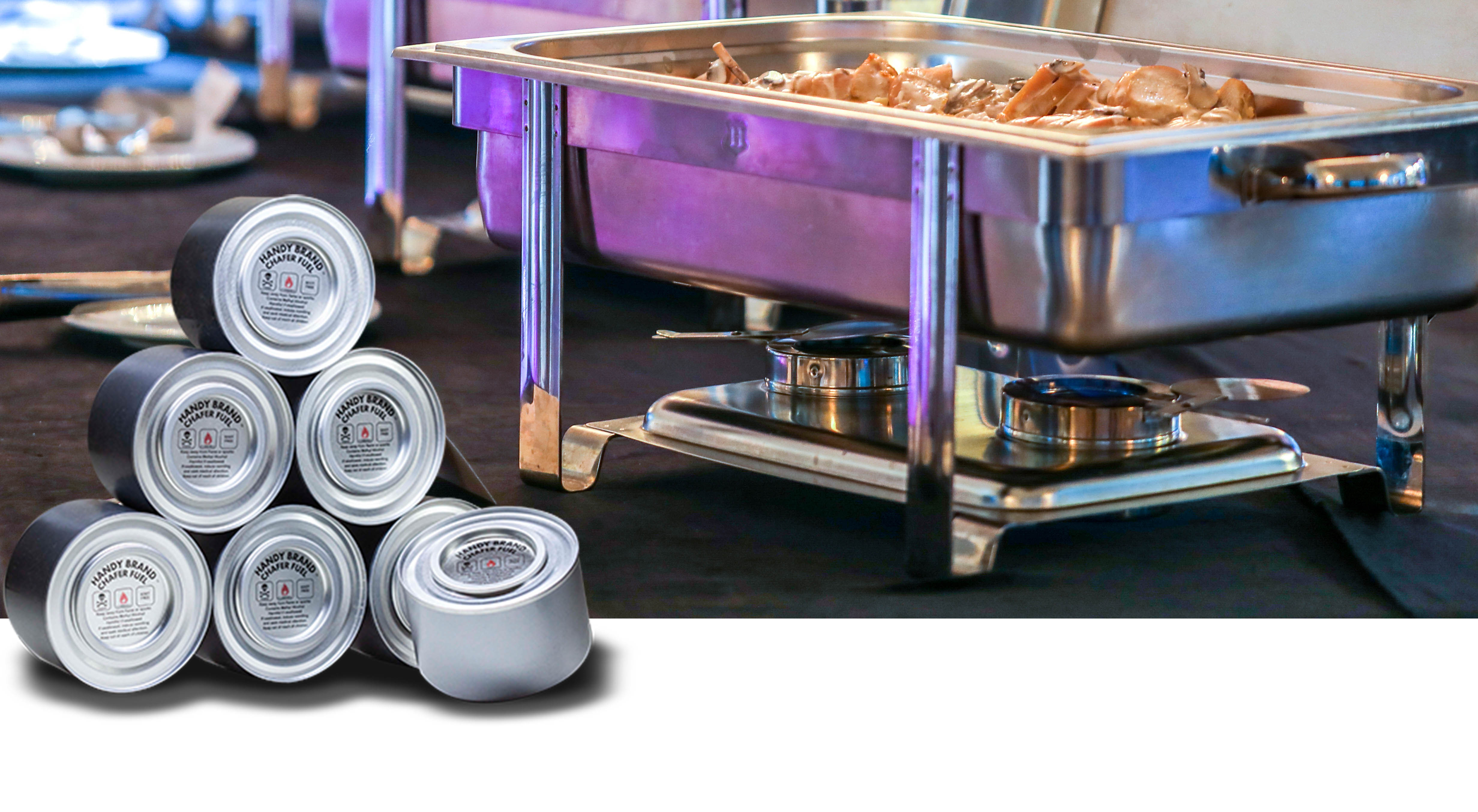 Handy Brand Chafer Cans