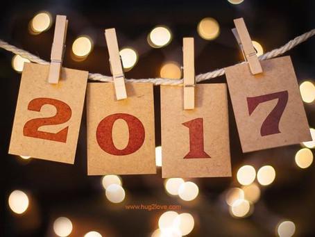 Goodbye 2016, Hello 2017