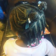 Girl's Braid Style