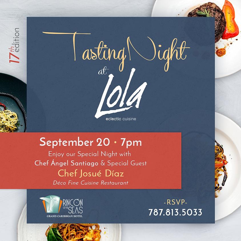 Tasting Night 17th Edition