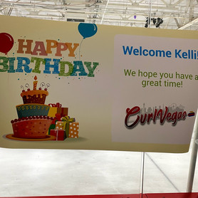 Celebrate your birthday with CurlVegas