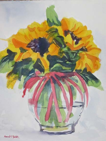 Sunflowers-and-Red-Ribbon.jpg