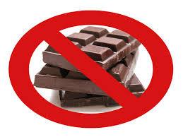 No Valentine Chocolate for you!