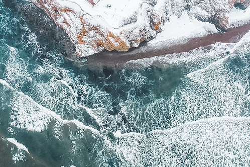 Côte Est, Gaspésie, Janvier 2019.