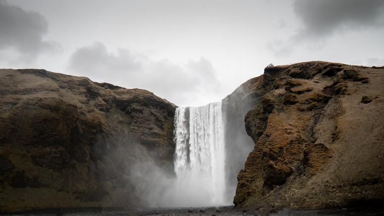 Skogafoss. Islande