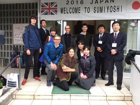 From Coventry to Kumamoto: A Creative Exchange for Schoolchildren