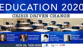 RSA JFN Event: Education 2020: Crisis Driven Change