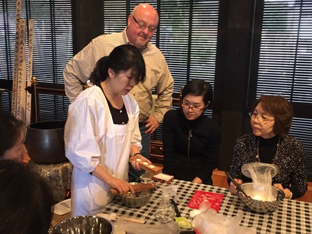 RSA JFN Event: Wagashi Workshop at Mannenzan Shourinji Temple
