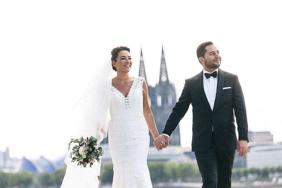 Türkische Hochzeit am Rhein