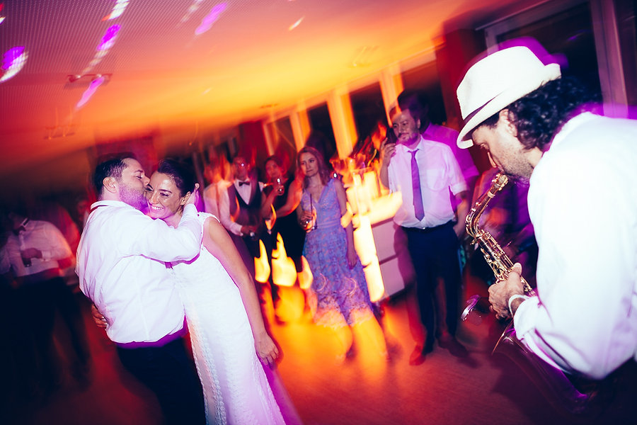 Saxophon auf der Hochzeit