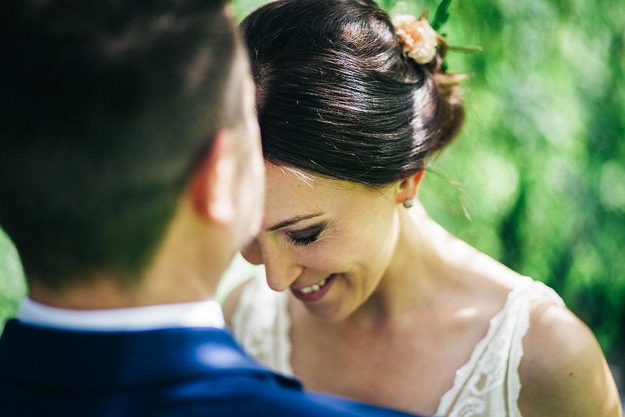 Hochzeitspaar beim Brautpaarshooting