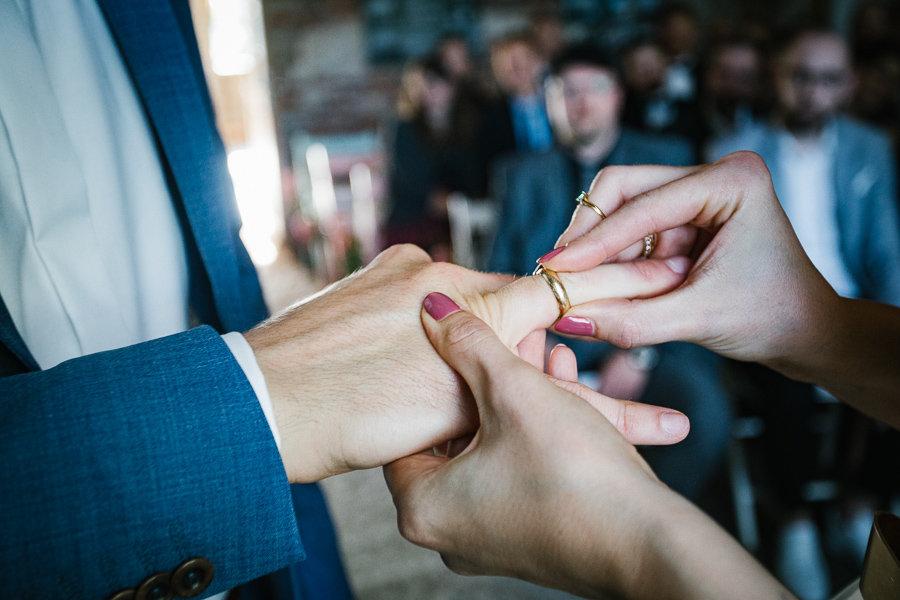 Ringtausch auf der Hochzeit