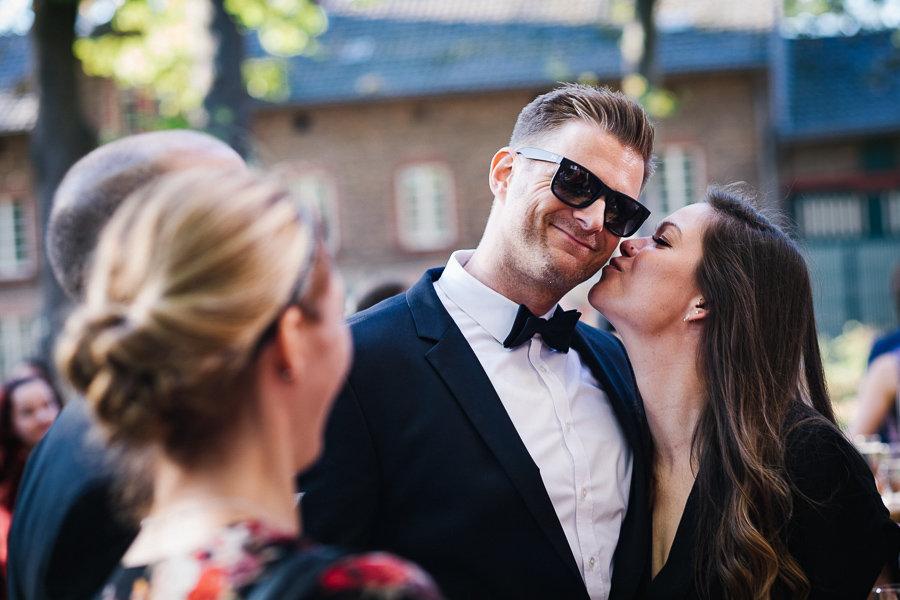 #dekobird auf der Hochzeit mit seiner Freundin