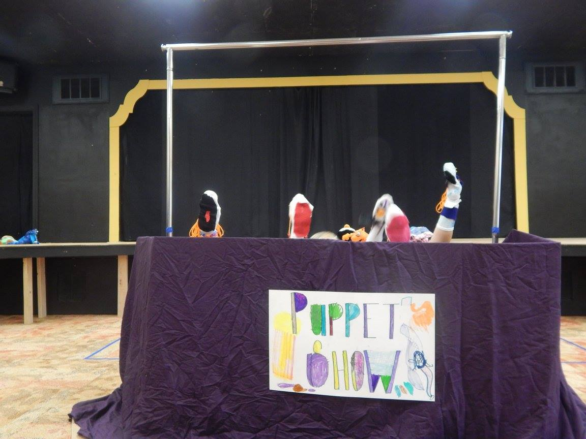 CAP Summer Camp - Puppetry Class