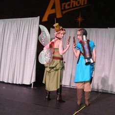 Steampunk Tinkerbell and Wendy