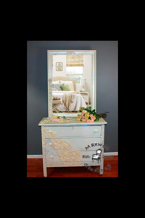 Rustic Glam dresser