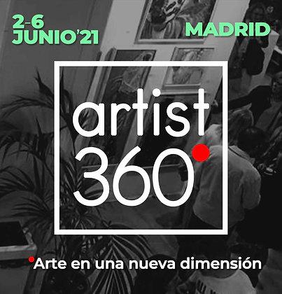 Espacio Tipo C -Feria ARTIST 360 - 3m lineales