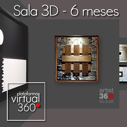 Sala 3D (Plataforma Virtual 360º) - Exposición 6 meses