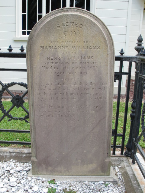 Marianne Tombstone