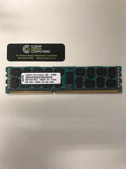 APPLE RAM 8GB 2Rx4 PC3L-10600R DDR3 1333MHz 240Pin ECC