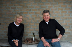 The owners at Duck Creek Olive Oil