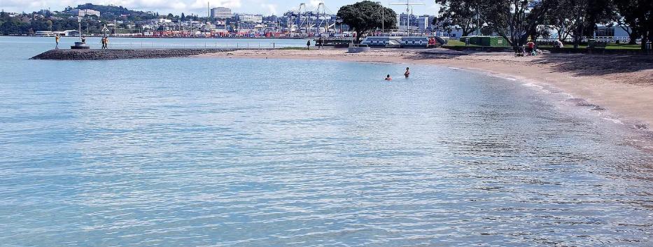 A local beach