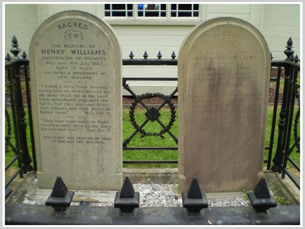 Tombstones Holy Trinity Churchyard