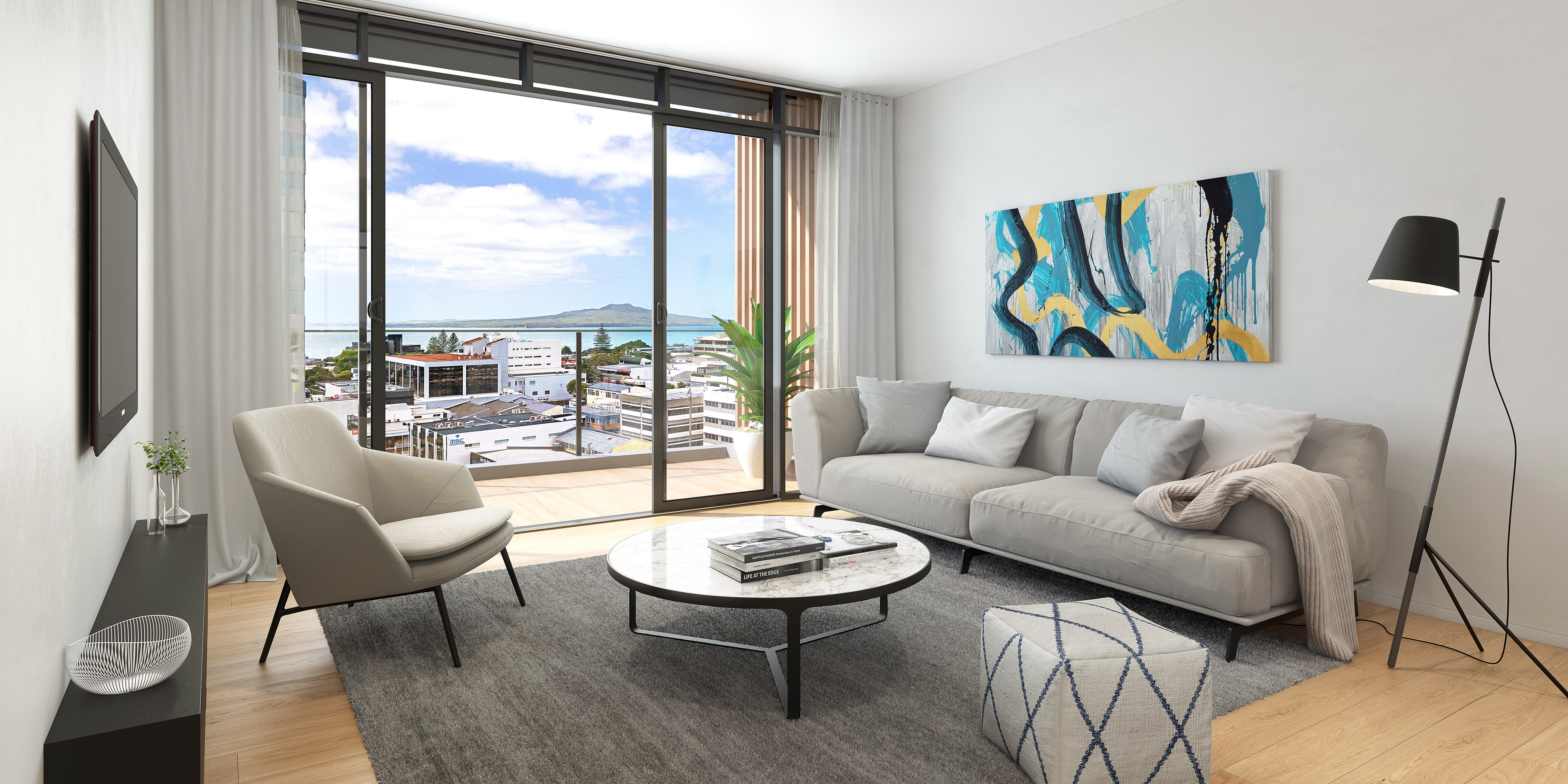 Urban Living Room Luxury Urban Living And Luxury Apartments Takapuna Alba Living