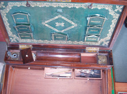 compartments and inkwells