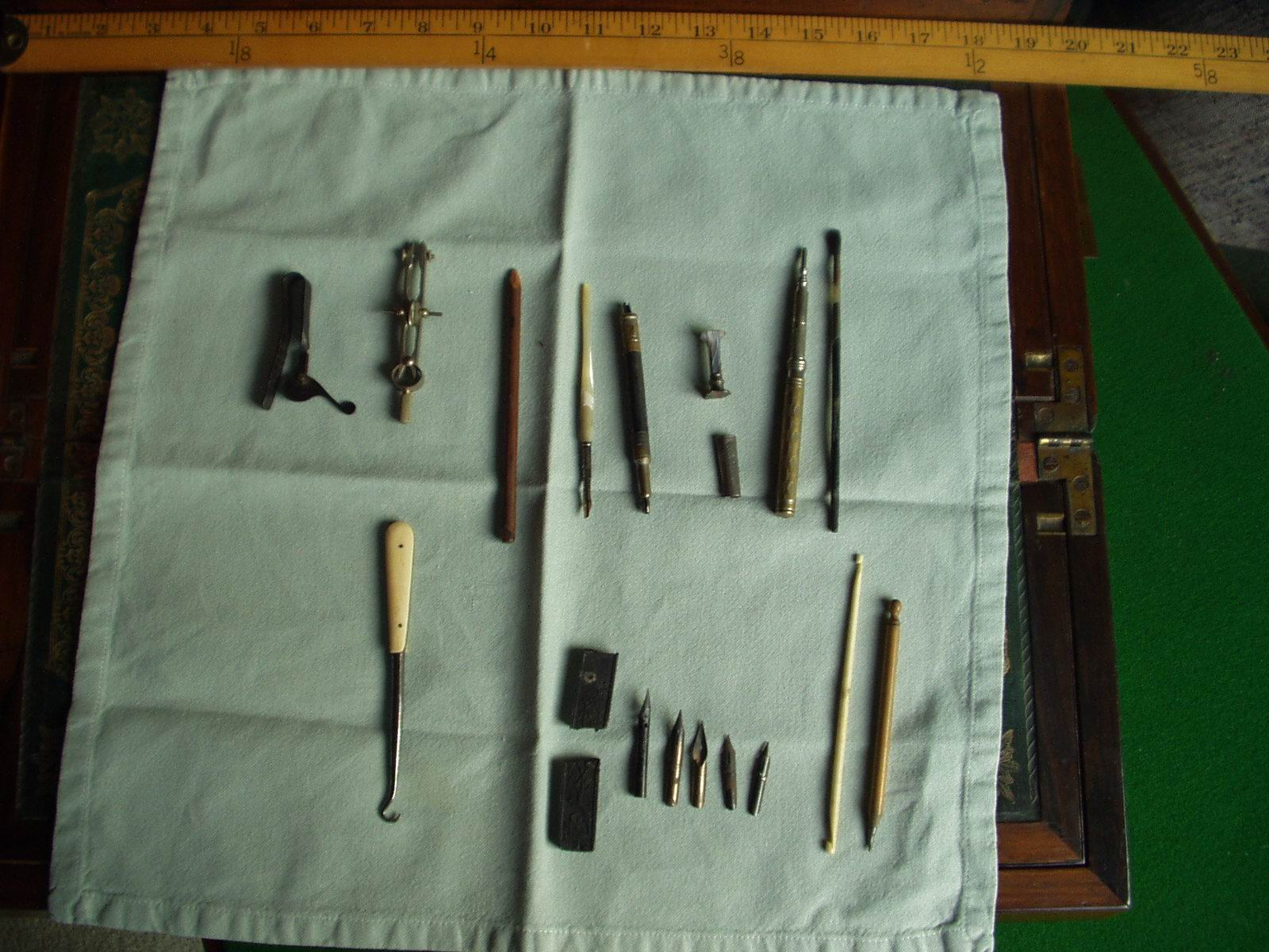 Writing desk tools