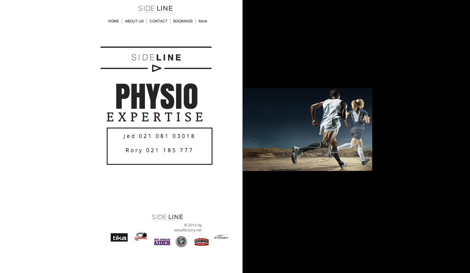 sideline physio