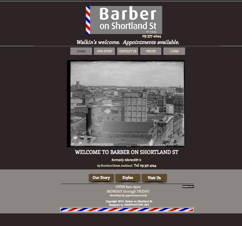 barber on shortland