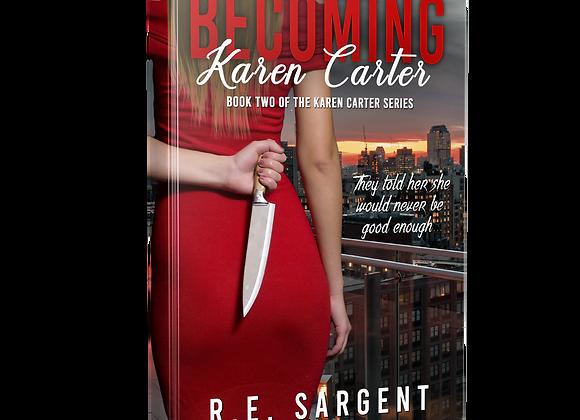 Signed Book - Becoming Karen Carter