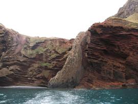 Volcanic cliffs