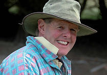 Murray Johns, your host at Paua Bay Farmstay