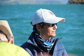Co-skipper and tour guide Mafi