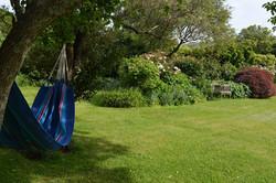 Hammock in the garden